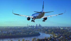 aircraft-landing at airport